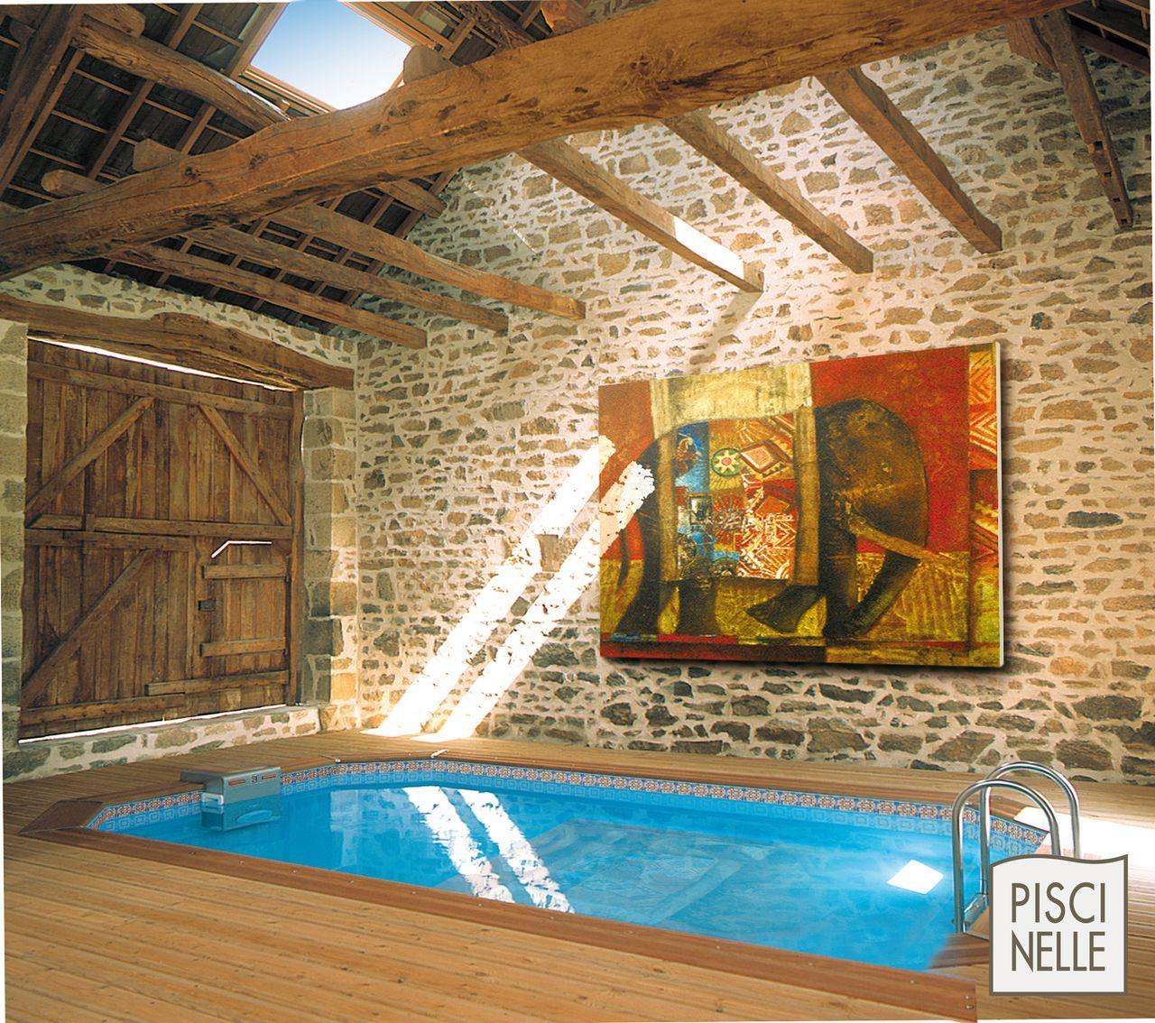 piscine int rieure piscine l 39 int rieur de la maison piscinelle pool pinterest. Black Bedroom Furniture Sets. Home Design Ideas