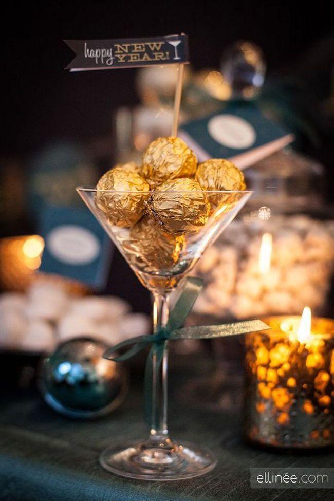 Happy New Year / Ferrero Rocher #borddekkingnyttårsaften