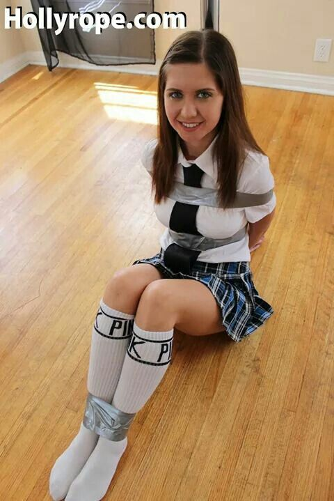 High school girl tied up 10