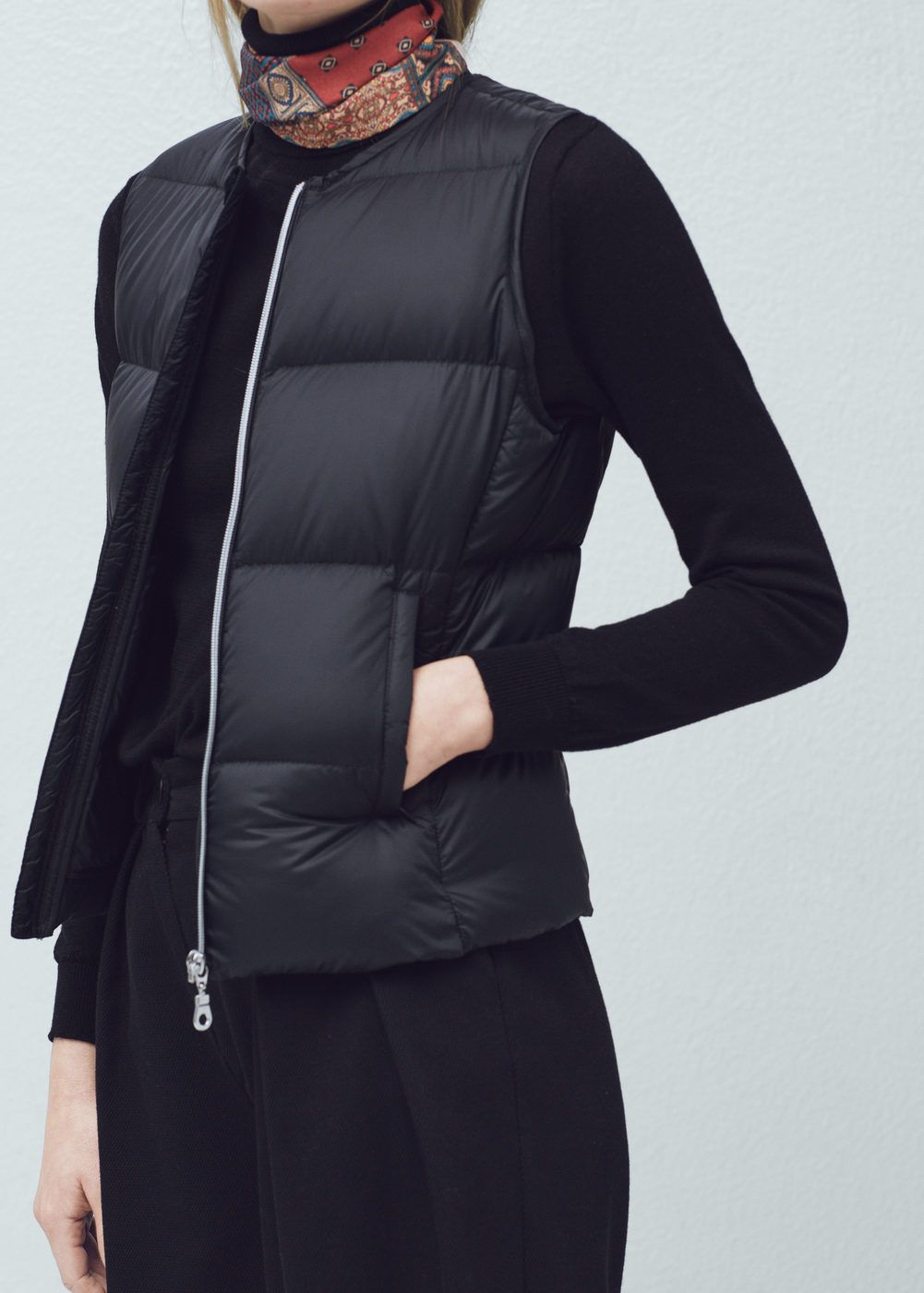 Quilted lightweight feather gilet - Women en 2019  c14bc2dce0bf