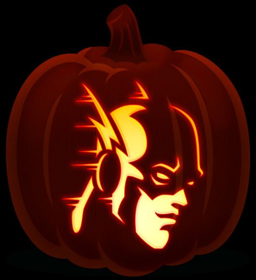 The Flash Pumpkin Carving Patterns Carvings Kids Pumpkins Holidays