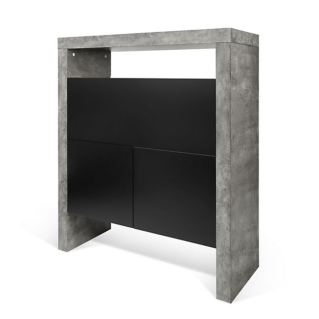 hilo secr taire bar effet b ton id es d co pour salon pinterest secr taire beton et. Black Bedroom Furniture Sets. Home Design Ideas