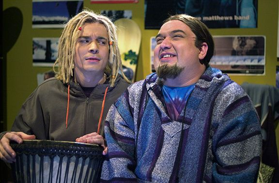 Classic Mexican Baja Hoodies - Stripes & Solids (Black/Tank/Grey/Rasta/Blue) ... picture from the classic Jimmy Fallon/Horatio Sans skit
