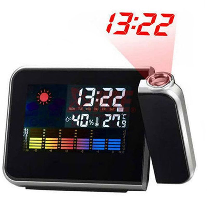 Digital Alarm Clock with temperature and humidity