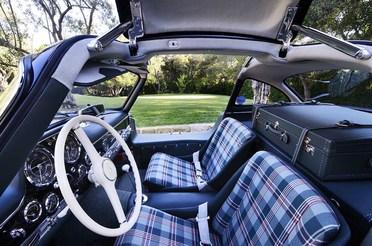 Mercedes Benz 300sl Gullwing 1955 Interior