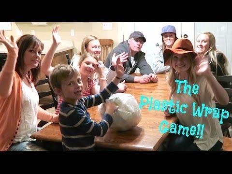 Plastic Wrap Game!! So Fun!! Party!!! Pinterest Saran wrap