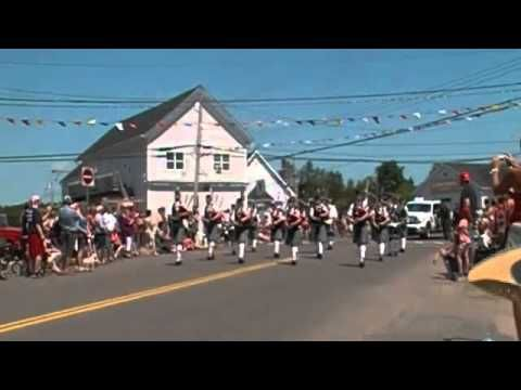 Clan Thompson Pipe Band 2012