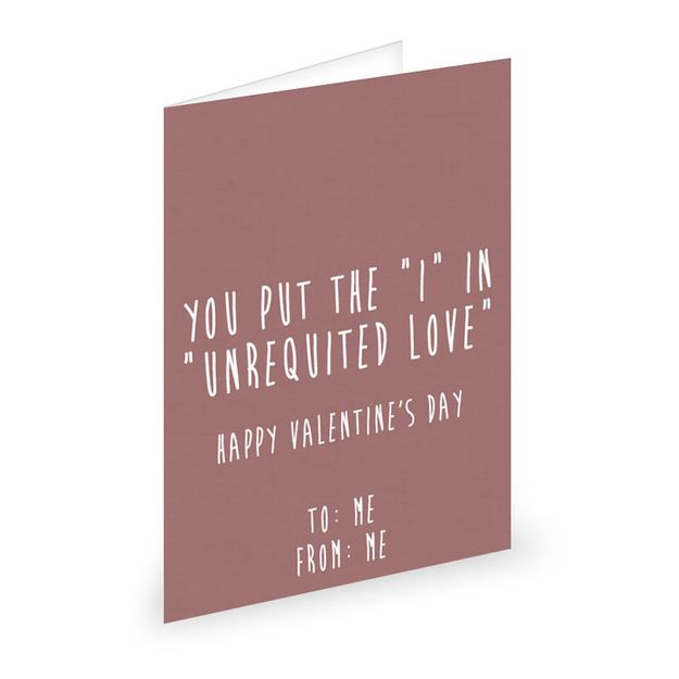 If You Re Feeling Dramatic Single People Valentines Cards