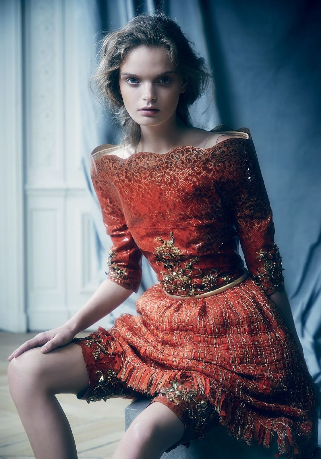 """leahcultice: """" Marthe Wiggers by Nicole Bentley for Vogue Australia November 2014 """""""