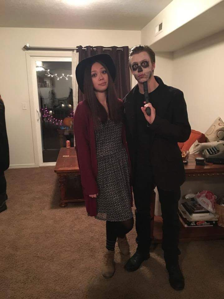 American horror story tate and violet costume with