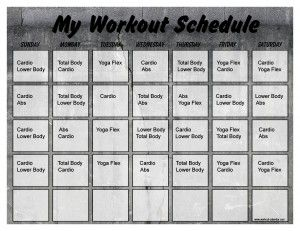 Concrete  Minute Trainer Calendar   Fitness