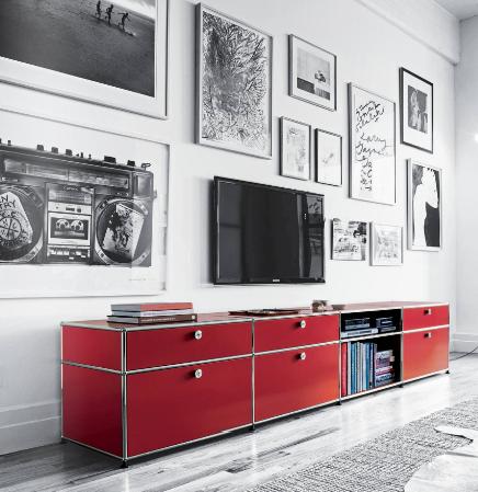 Usm modular furniture organisation pinterest for Tische designermobel