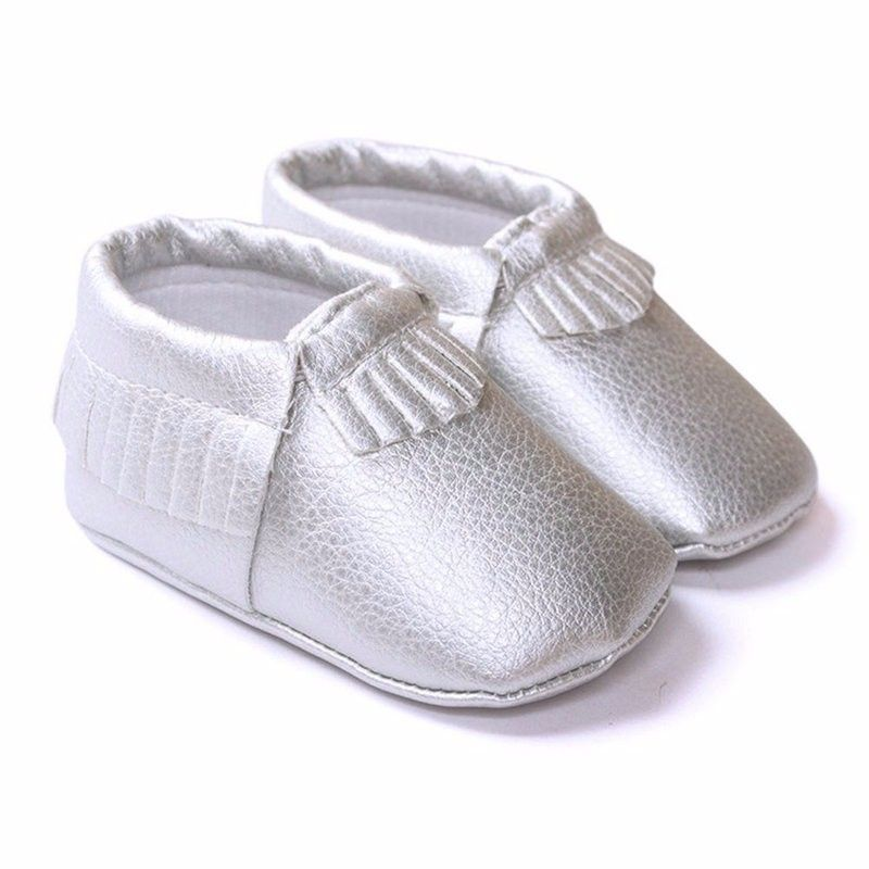 $2.74 (Buy here: http://appdeal.ru/5k2m ) Newborn Baby Tassel PU Leather Shoes Boys Girls Kids Toddler Moccasin Soft Sole Shoe for just $2.74