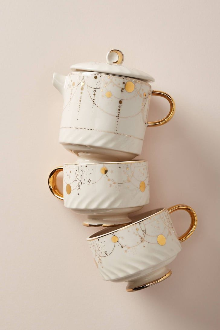 This Tea Set Looks Like It's From It's a Small World in Disney, and We Need It Immediately #teasets