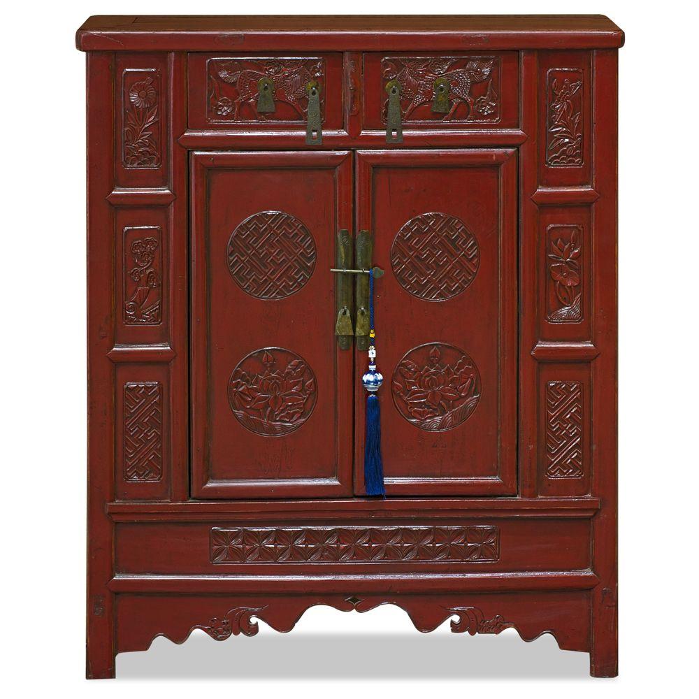 Vintage Elmwood Peking Palace Jewelry chest
