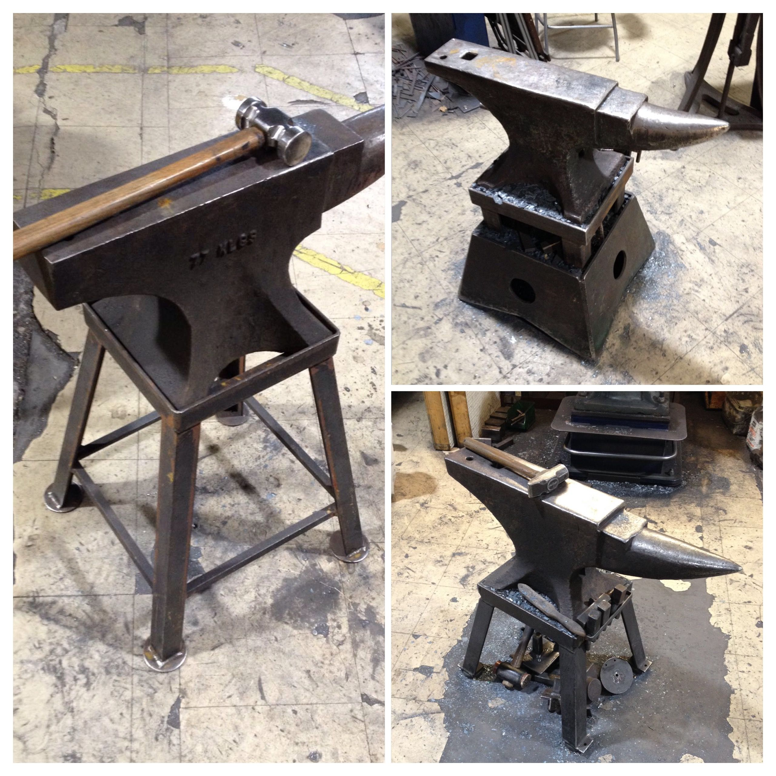 A Few Of Our Anvils On The Forge Floor Nigeltyas Anvil Forge
