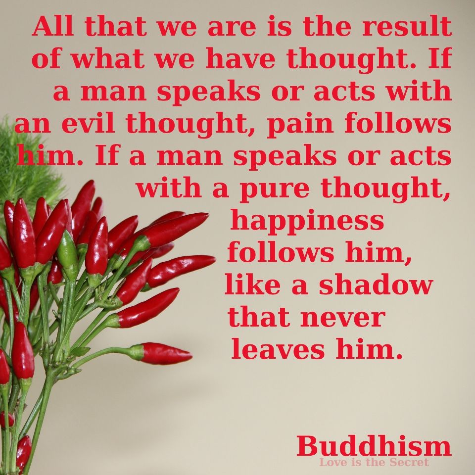 All That We Are Is The Result Of What We Have Thought. If A Man · Bodhi TreeBuddha  QuoteFitness ...