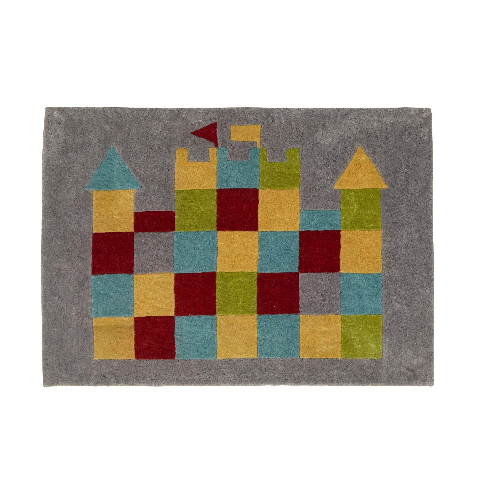 Tapis 90x130cm Multicolore Chevalier Les tapis de chambre d