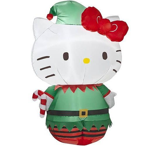 Hello Kitty Inflatable Outdoor Christmas Decoration HELLO KITTY - inflatable outdoor christmas decorations