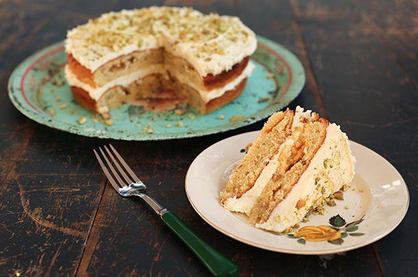 Dairy Free Cake Recipe Jamie Oliver: Chetna's Pistachio & White Chocolate Cake
