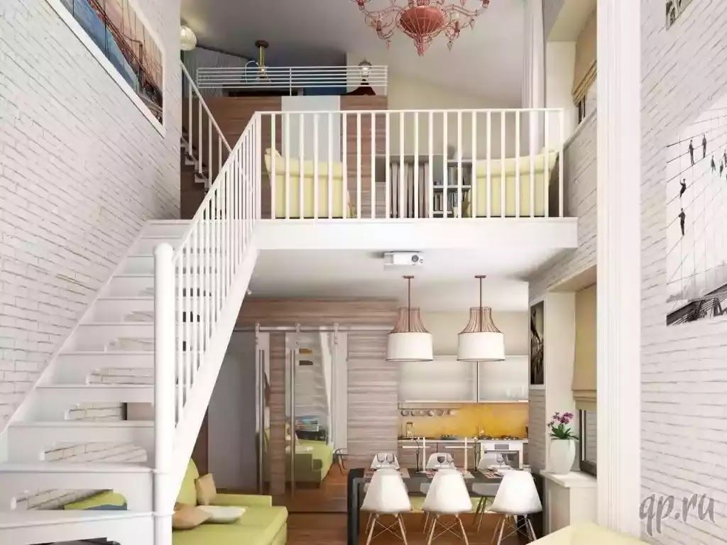 تصاميم بيوت من الداخل بسيطة