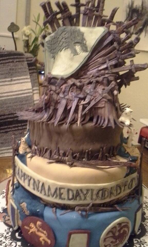 Game of Thrones Cake Awesome Cakes Pinterest Cake Cake games