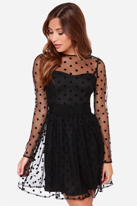 12+ Black polka dot dress ideas in 2021