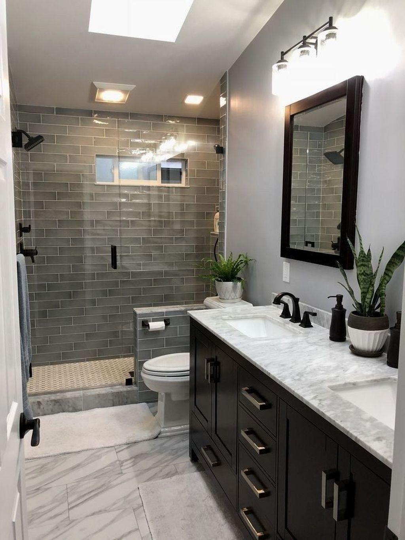 30 Brilliant Bathroom Design Ideas For Small Space Bathroom Tile Designs Bathroom Remodel Master Bathroom Layout