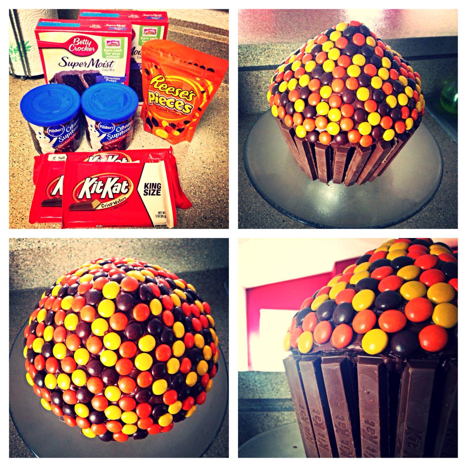 Reese's & Kit Kat Cake