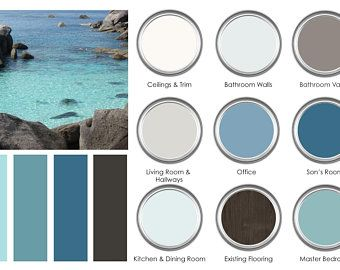 Indoor/Outdoor Bundle Paint Color Consultation - Includes BUNDLE Pricing - Entire Home Color Palette #indoorpaintcolors