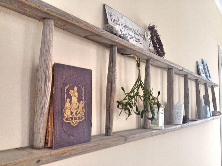 Leiter, Dekoration, Wanddekoration, Mistel - #Deko #leiter #Mistel #Wanddeko #wohnzimmerideenwandgestaltung