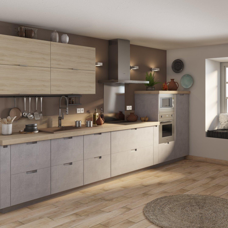 La Collection De Cuisines 2019 Leroy Merlin Meuble Haut Cuisine Cuisines Design Amenagement Petite Cuisine