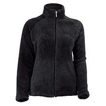 White Sierra Slim Cozy Fleece Jacket (For Plus-Size Women) in Cloud - Closeouts