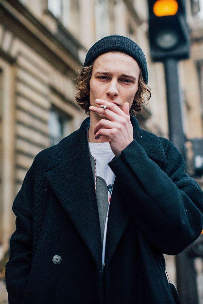 Fashion Week homme Street looks Paris automne hiver 2016 2017 117