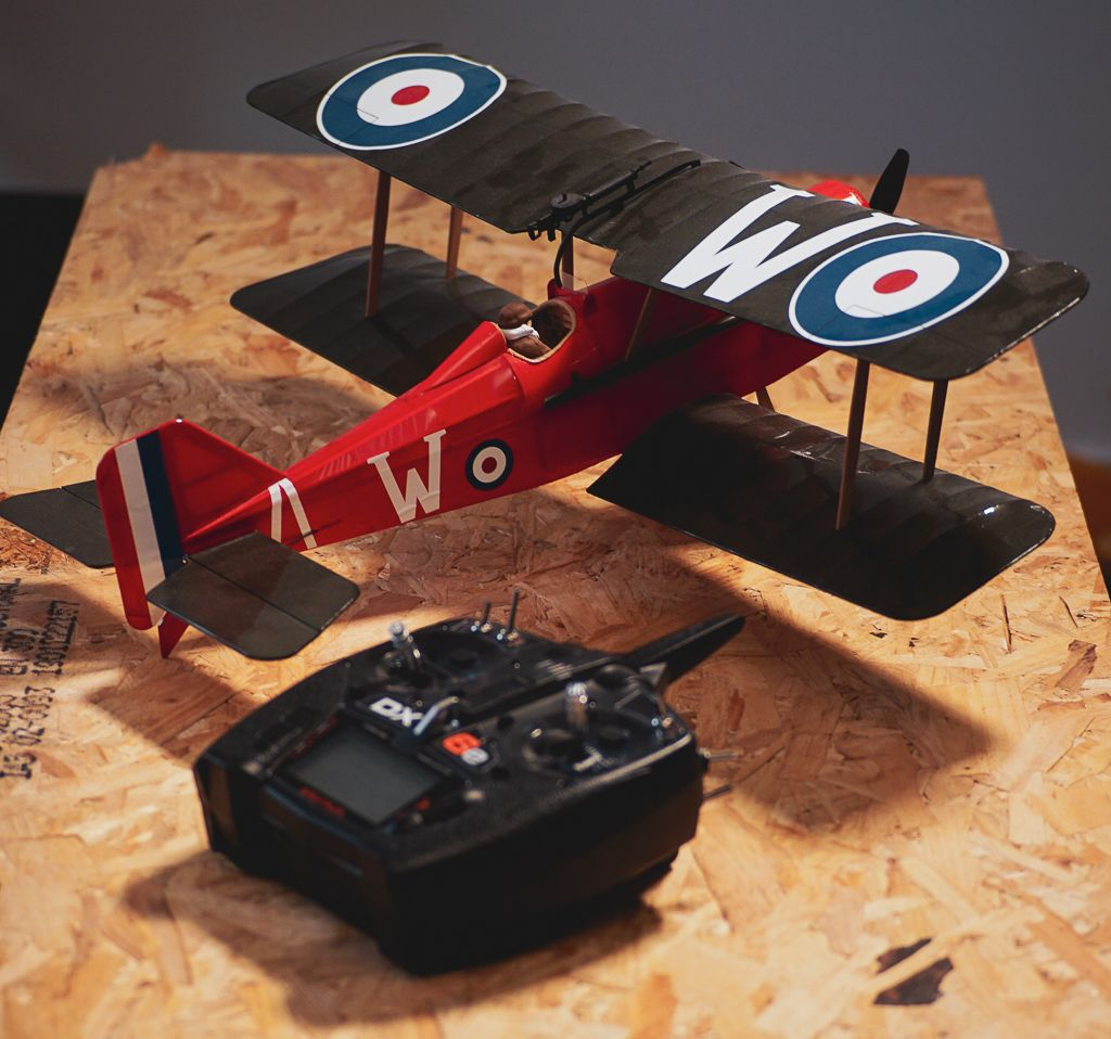 """24"""" Radio Controlled SE5a WW1 Fighter Kit with ELECTRONICS"""