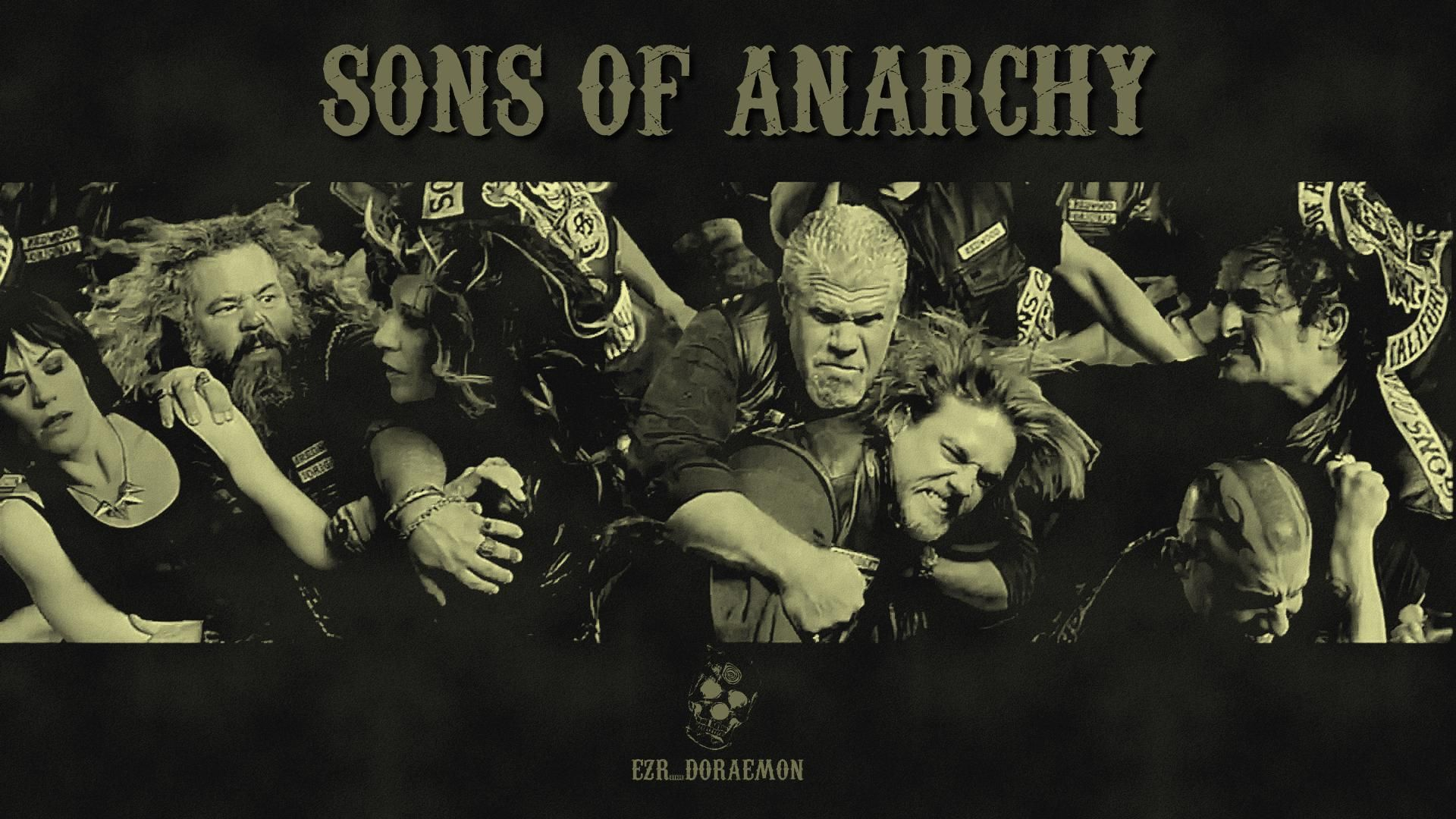 My Attempt To Make A Wallpaper On Sons Of Anarchy Season 6 Trailer Post Sons Of Anarchy Sons Of Anarchy Samcro Soa Season 6