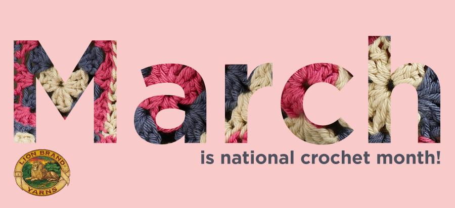 Image result for national crochet month