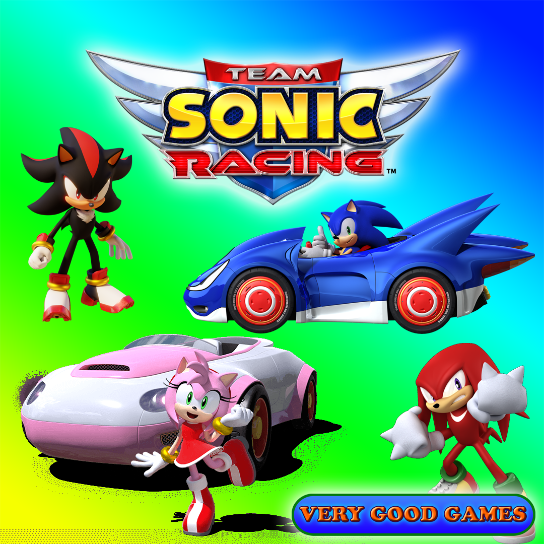 Are you ready to race with Sonic and friends? (Game
