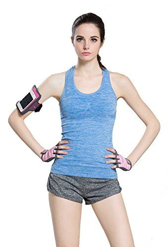 Women's Sports Yoga Fitness Racerback Sleeveless Tank Top...