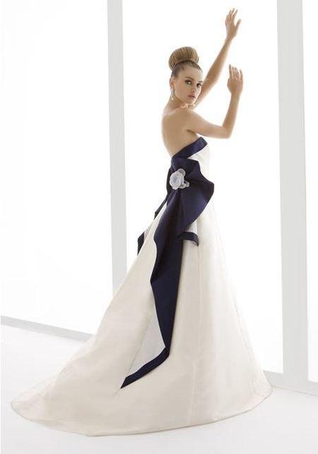 blue wedding gown   Wedding   Pinterest