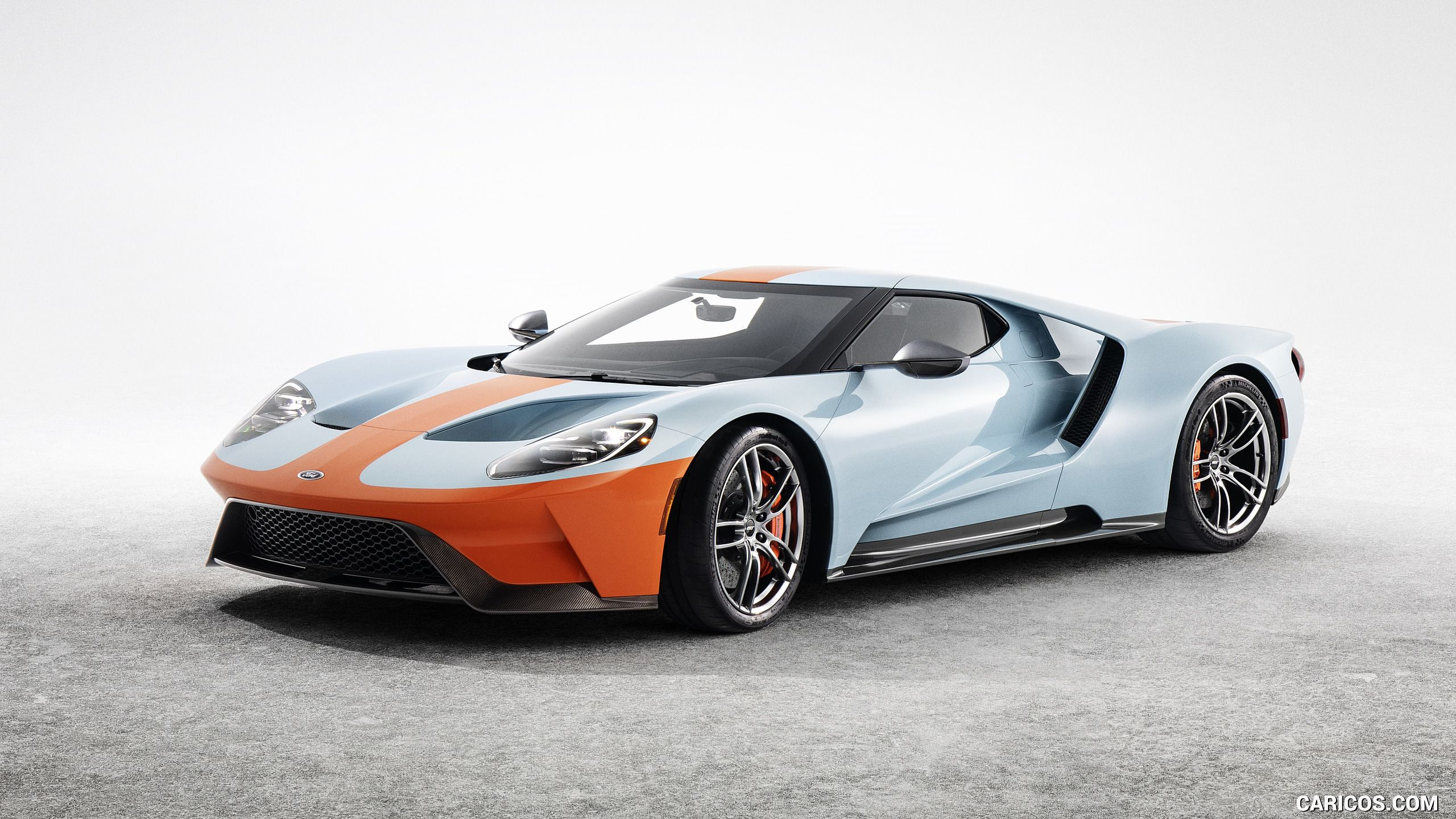 2019 Ford Gt Heritage Edition With Images Ford Gt Gulf Ford Gt Ford Gt40