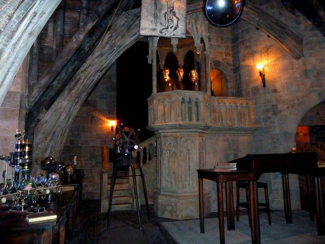 Defense Against The Dark Arts Classroom Dark Art Hogwarts Aesthetic Hogwarts