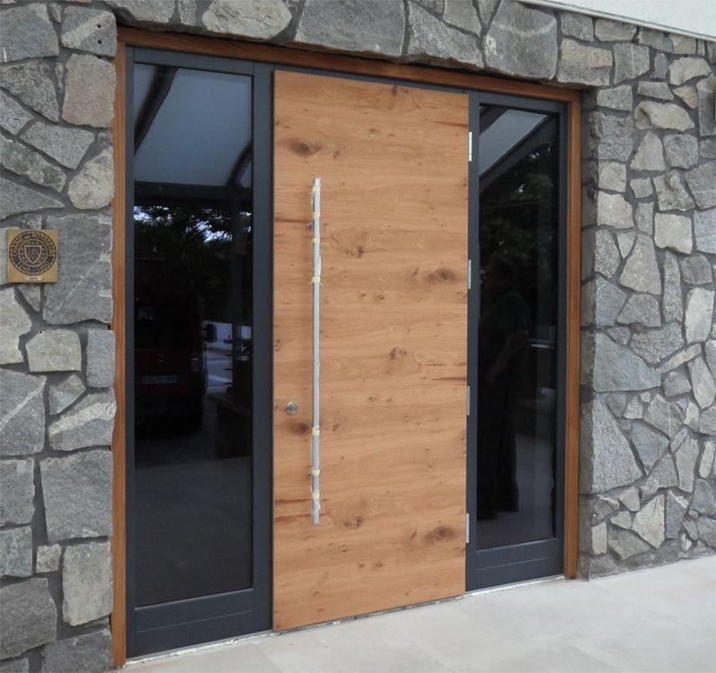 Haustüren modern holz mit seitenteil  Haustüren Bildergalerie | Eingang | Pinterest | Haustüren und ...