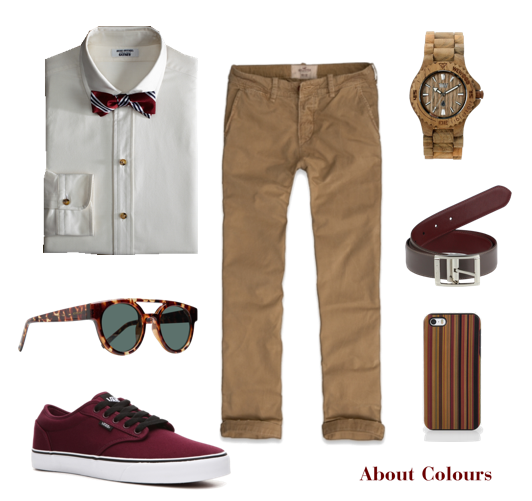 About Colours: Men's Outfit ---> Casual Safari