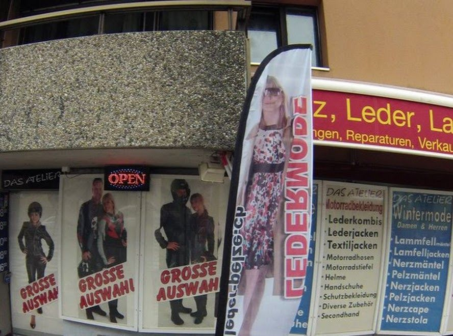 Atelier Leder …Das Pelze Motorradbekleidung Lederjacken SpjzMGqUVL