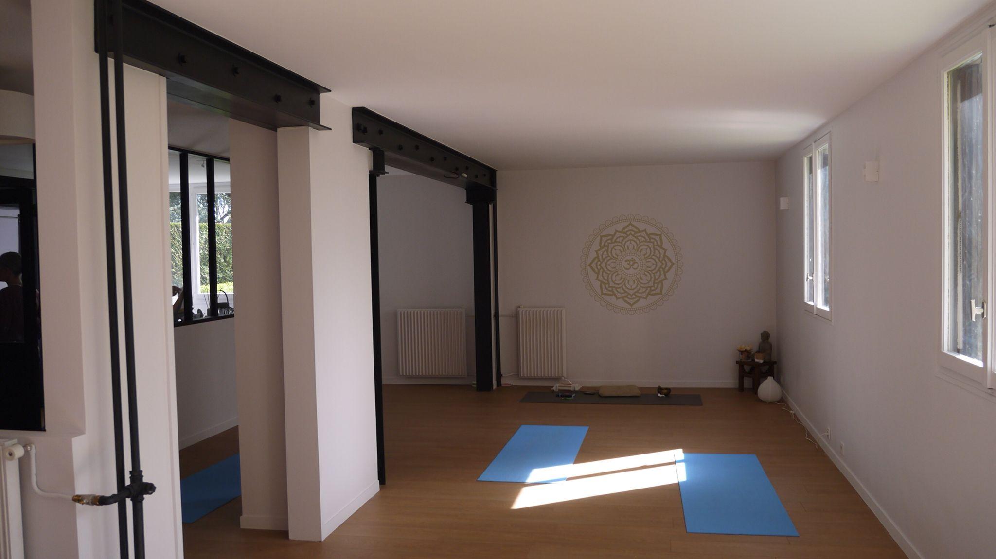 Ouvertures Dans Un Mur Porteur Salle De Yoga Rambouillet Architecte  Du0027intérieur Audrey Marquet