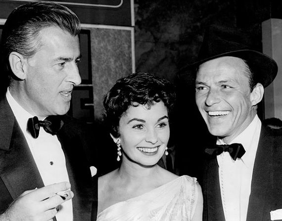 Jean Simmons - With Husband Stewart Granger and Frank Sinatra