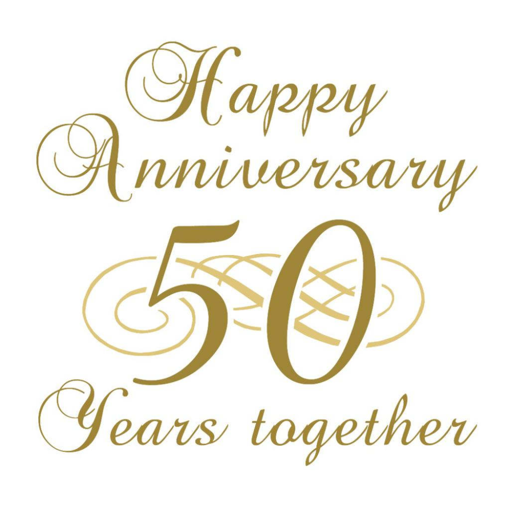 Happy 50 Anniversary Google Search In 2020 Wedding Anniversary Wishes Happy 50th Anniversary 50th Anniversary Wishes