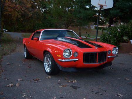 1972 Chevy Camaro Orange Chevy Camaro Camaro Hot Rods Cars Muscle