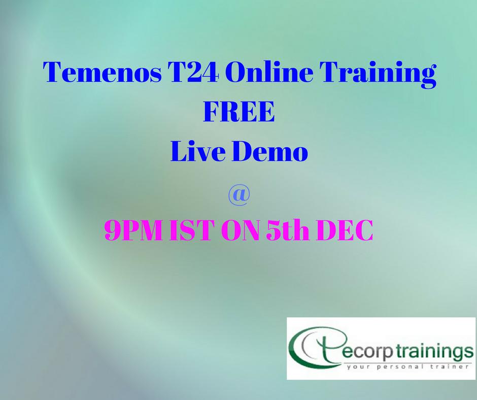 Best Institute For Learn Temenos T24 Online Training In Hyderabad